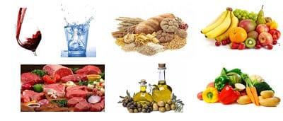 dieta mediterranea alimentos