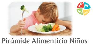 piramide de los alimentos para niños