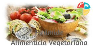pirámide alimenticia vegetariana