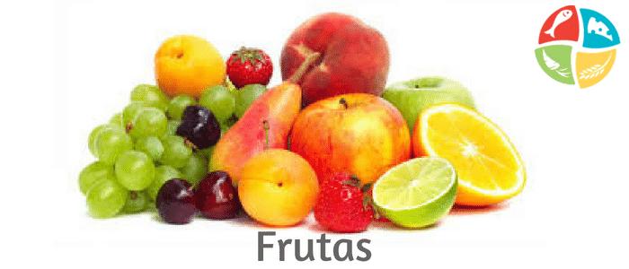 pirámide alimenticia frutas