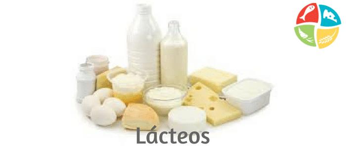 pirámide alimenticia lácteos