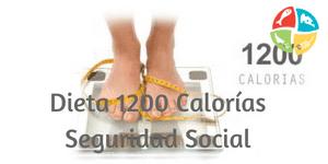 dieta 1200 calorias de la seguridad social