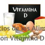 Ventajas Alimentos Vitamina D