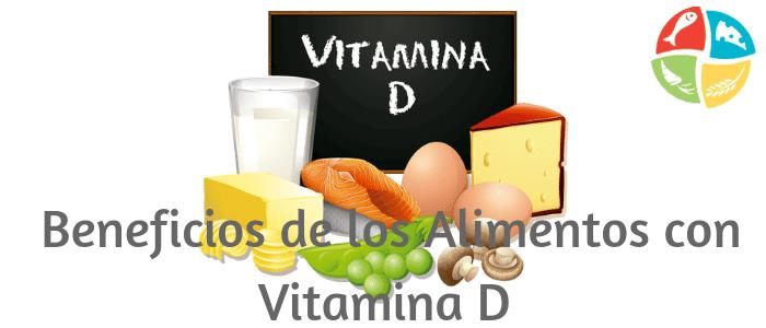 alimentos contienen vitamina d